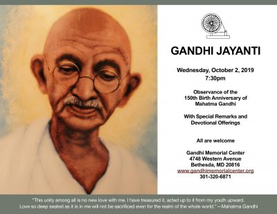 Gandhi Jayanti - 150th Birth Anniversary Observanc...