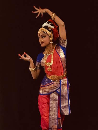 Northwest High student Laasya Brahamdam will be a featured dancer at BlackRock's Diwali Festival.