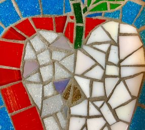 Make Glass Mosaics in a Funky Studio Space