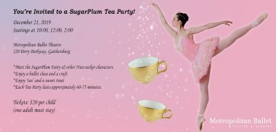 Sugar Plum Tea Party at Metropolitan Ballet Theatr...