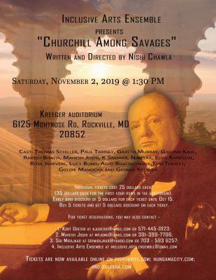 Churchill Among Savages