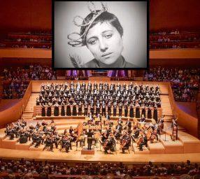 "National Philharmonic Presents R. Einhorn's Oratorio, Silent Film ""The Passion of Joan of Arc"""