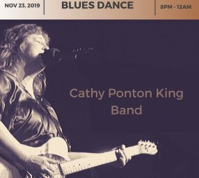Blues Dance with Cathy Ponton King Band