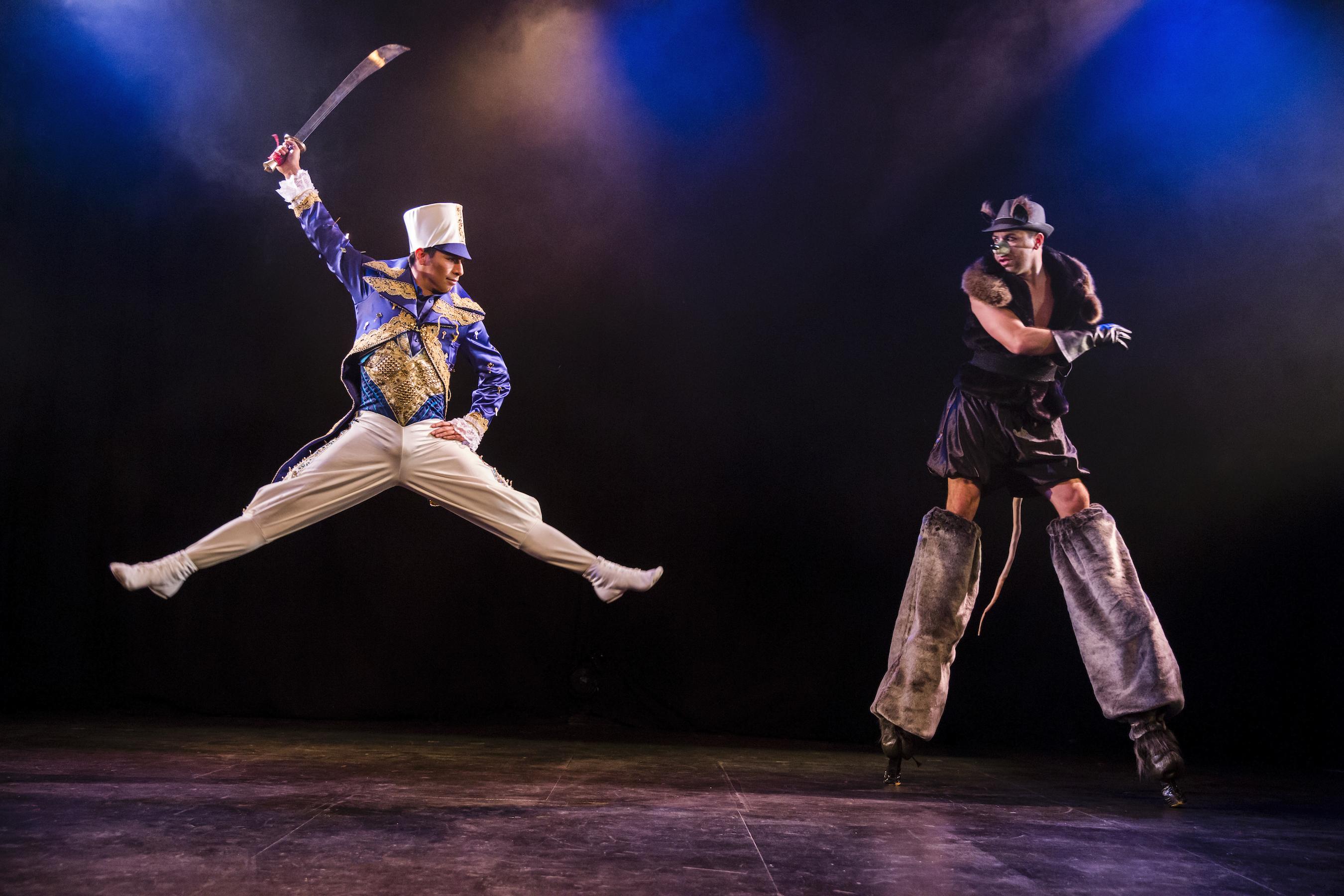 """The Baltimore Symphony Orchestra and Troupe Vertigo's """"Cirque Nutcracker."""""""