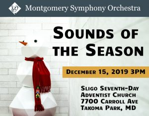 Montgomery Symphony Orchestra: Sounds of the Seaso...