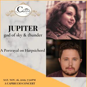JUPITER - A PORTRAYAL ON HARPSICHORD