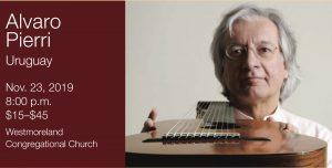 Marlow Guitar Series Presents Alvaro Pierri