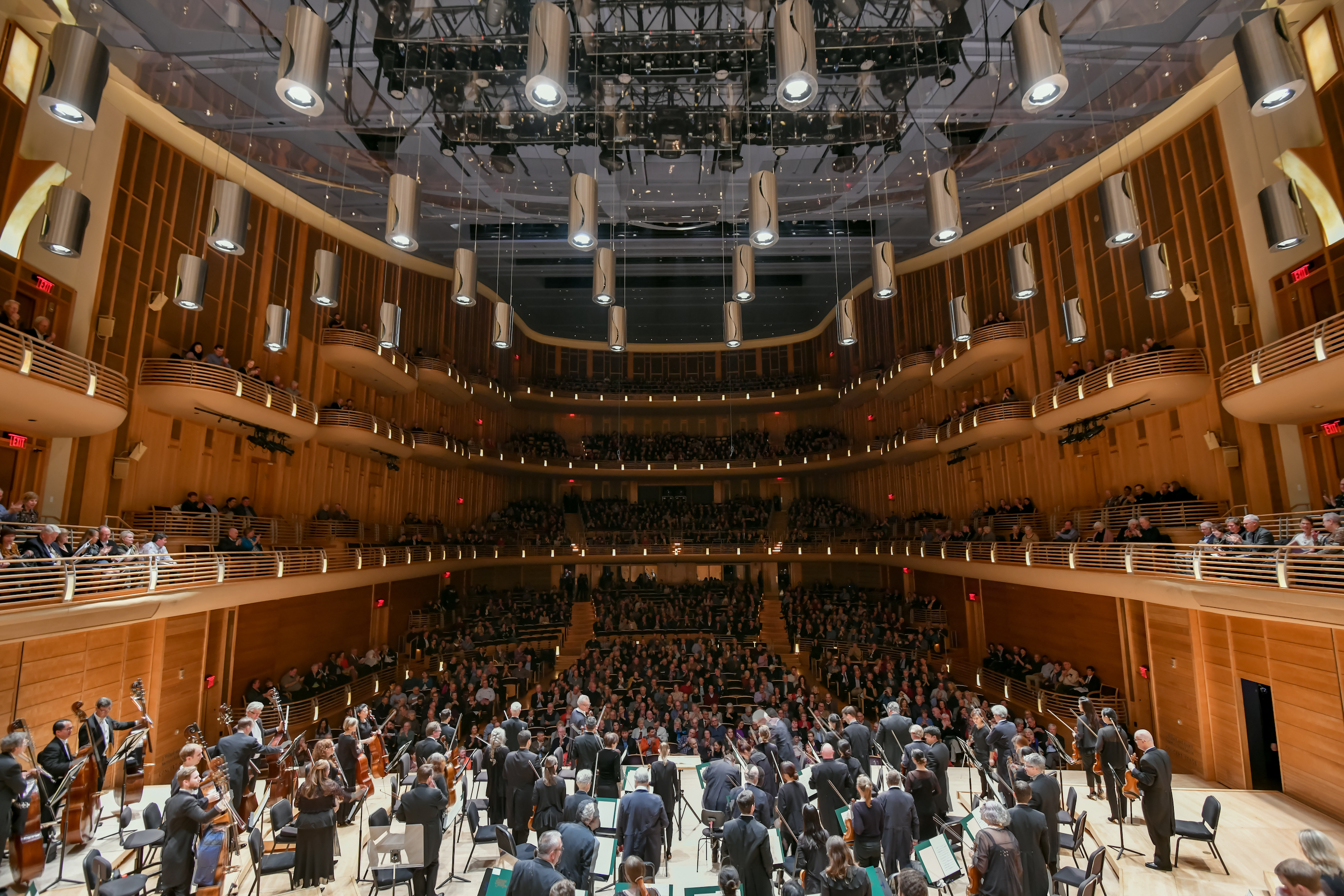 """The elegant Music Center at Strathmore transforms into a cinema for the BSO's Movie with Orchestra presentation of """"Amadeus."""""""