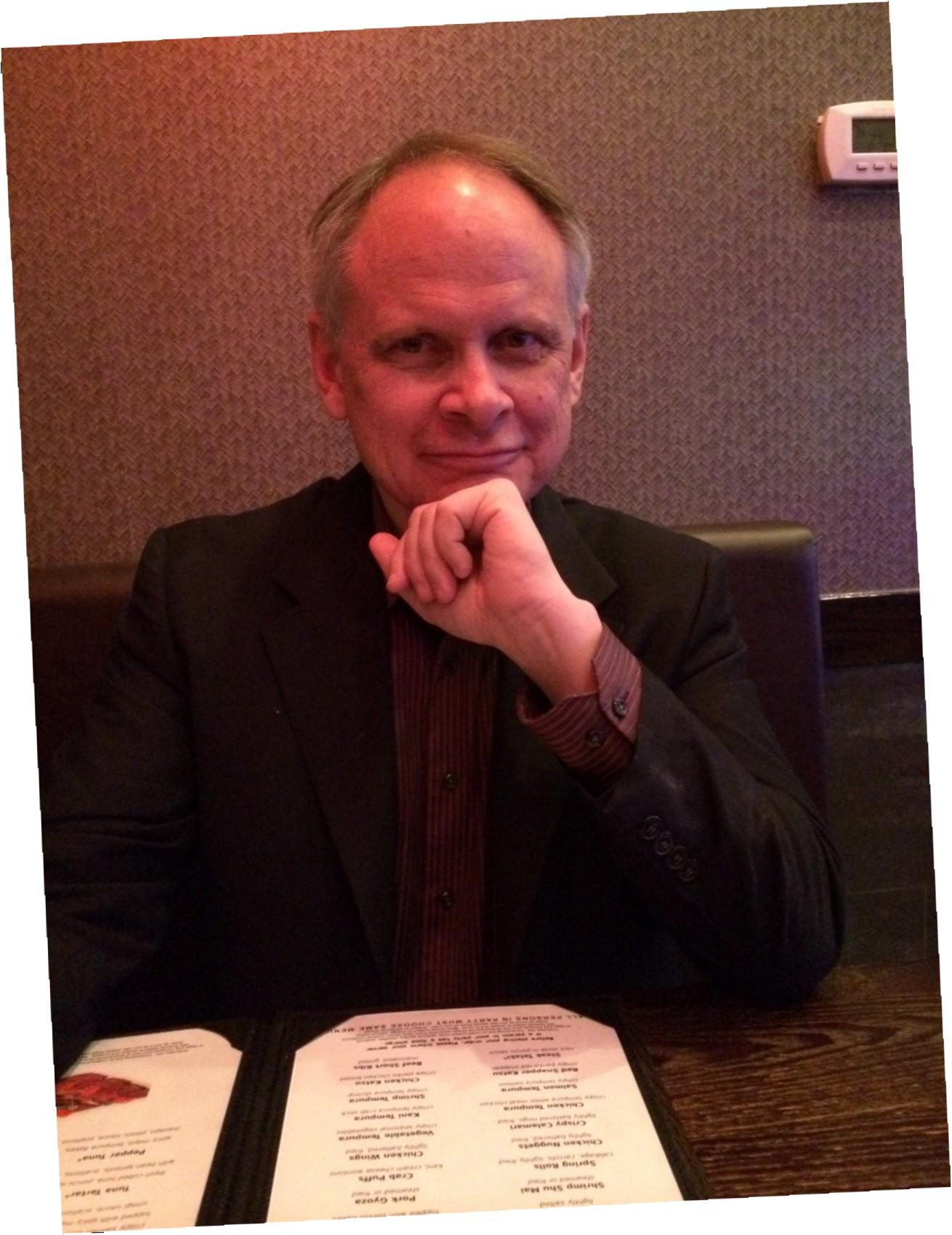 David Minton, Lumina Studio Theatre's artistic and executive director.