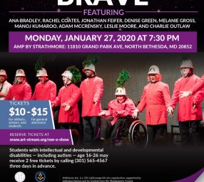 ArtStream's Maryland Cabaret Presents: Brave
