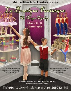 La Boutique Fantasque - The Magic Toyshop: An interactive ballet experience [postponed]