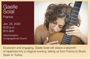 Marlow Guitar Series Presents Gaelle Solal