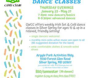 Irish Set & Ceili Dance Class
