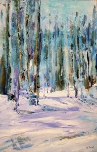 Winter Wonderland Paintings on Exhibit