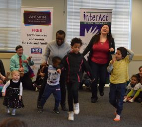 InterAct Story Theatre Presents A Literacy Fiesta! Wheaton Family Theatre Series Free Event