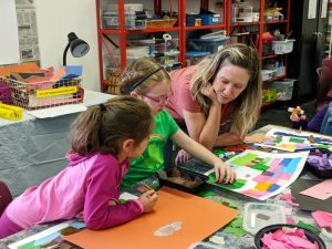 Summer Art Camp with CREATE Arts Center