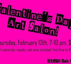 Galentine's Day: Art Salon