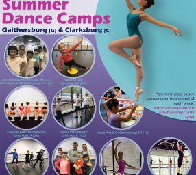 Summer Dance Camps and Classes at Metropolitan Ballet Theatre - Clarksburg