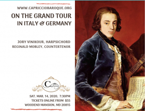 HARPSICHORD CONCERT - Music of Baroque Italy & Germany