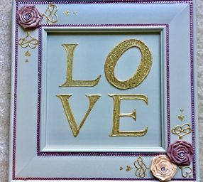 Valentine's Day Special! Mixed Media: Reclaimed Cabinet Doors
