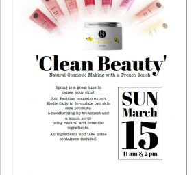 Clean Beauty-Natural Cosmetic Making with a French Touch
