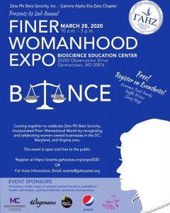 Zeta Phi Beta Sorority, Inc. - 2nd Annual Finer Womanhood Expo