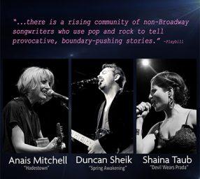 Anais Mitchell, Duncan Sheik & Shaina Taub