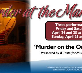 "Murder at the Mansion presents ""Murder on the Oriental Rug"""