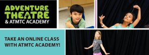 Acting Up! Online Theatre Class for Grades 3-5