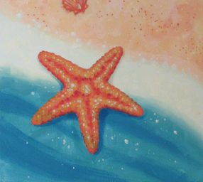 Paint at Home with the Pros – Starfish – Online Class