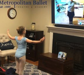 Metropolitan Ballet Theatre's DREAMS Online camp, ages 5-7