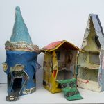 Building Tiny Houses (Sculpture)
