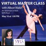 Virtual Master Classes at Maryland Youth Ballet