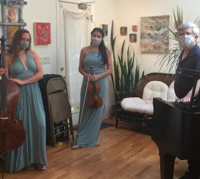 Milo Trio Livestream Chamber Music Concert