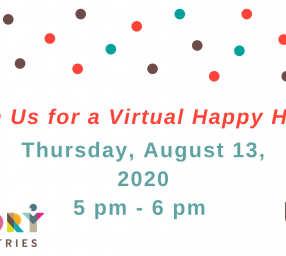 Story Tapestries Virtual Happy Hour to Connect and Tell Stories *for Adults*