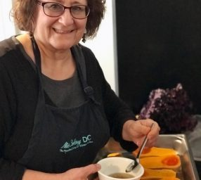 "Cooking Demo and Talk | ""Chillin' with Summer Soups & Salads"" Susan Barocas, chef and author"