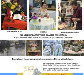 Our Fall term is enrolling, Yellow Barn Studio Classes will start in September.