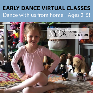 Virtual Early Dance Classes with Maryland Youth Ballet