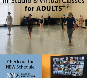 Adult Dance Classes at Maryland Youth Ballet