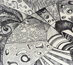 *ONLINE* Mindful Doodling Workshop