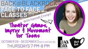 Theater Games, Improv, and Movement for Teens at B...