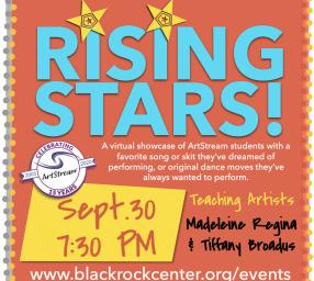 ArtStream Rising Stars at BlackRock Showcase