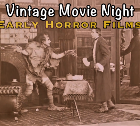 Vintage Movie Night Halloween of Horror Films!