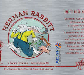 Virtual Happy Hour with Herman Rabbitt (Montgomery History & 7 Locks Brewing)