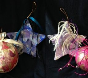 Collage Ornament Workshop for Adults & Children