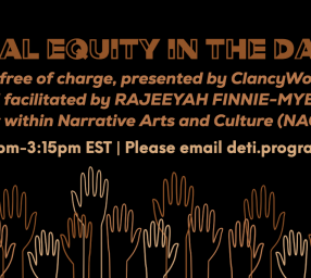 Building Racial Equity in the Dance World(s)