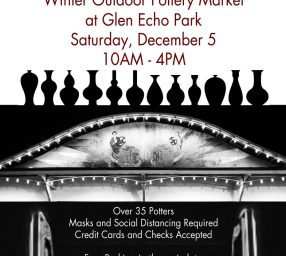 Glen Echo Pottery 2020 Winter Outdoor Market