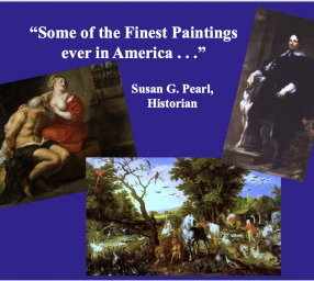 """History Conversations: """"Old World Master Paintings: Riversdale's Famous Art Works"""""""