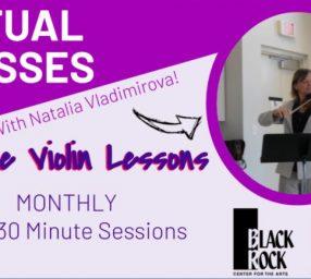 Private Violin Lessons- 3 Month Bundle