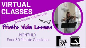 Private Violin Lessons- 3 Month Bundle